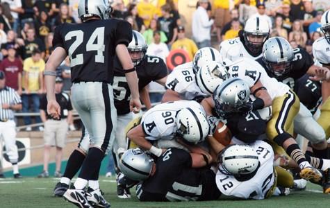 Football team fights to turn season around