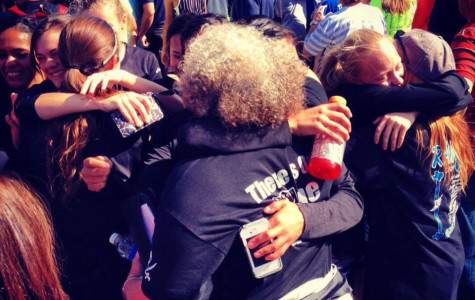 Girls' cross country team wins state title