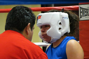 Sophomore finds success in boxing