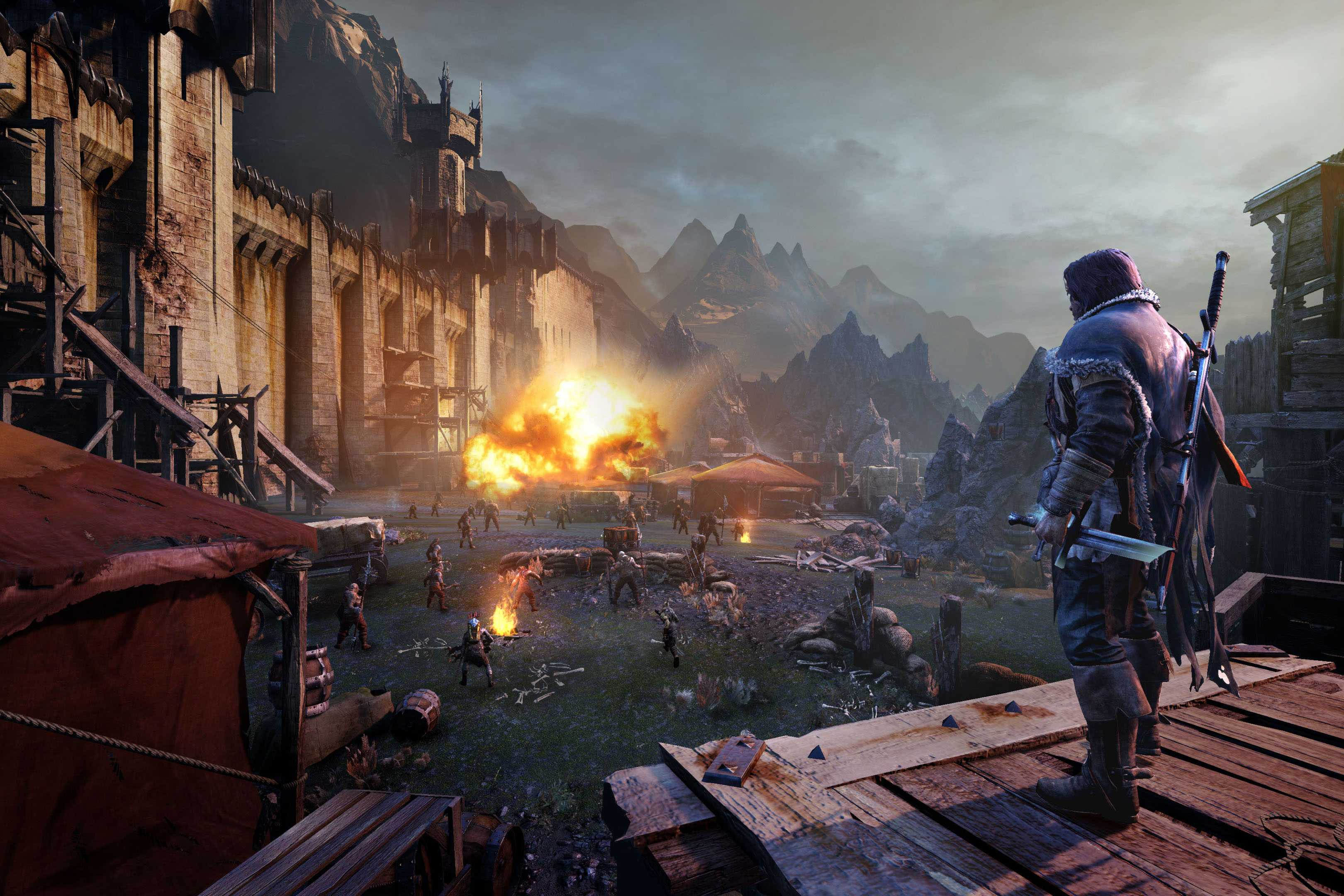 Screenshots of the Shadow of Mordor