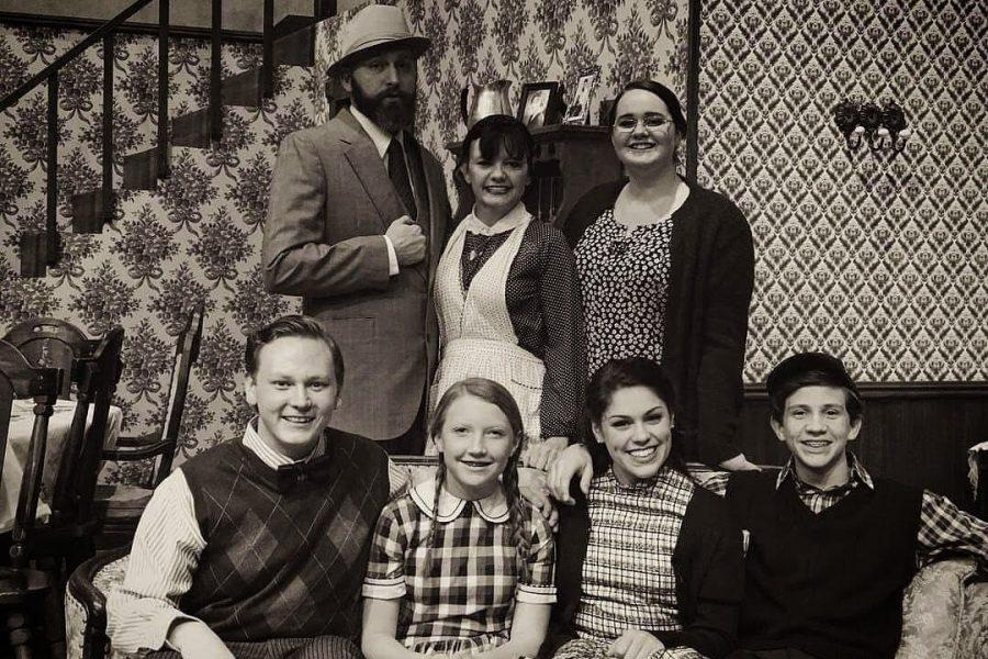 Sophomore stars in local play