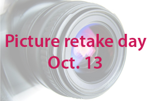 Picture retake day scheduled for Oct. 13