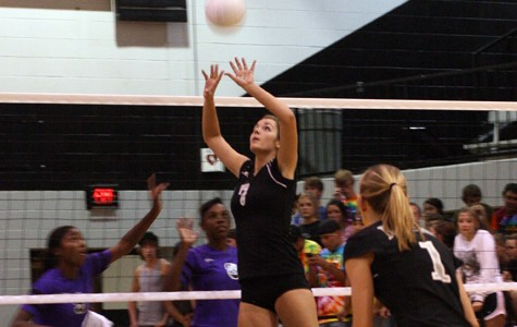 Volleyball team lives up to their state ranking