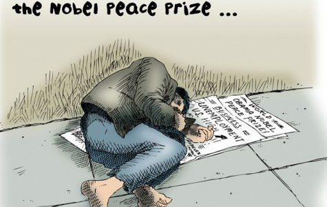 Excitement over Nobel Peace Prize