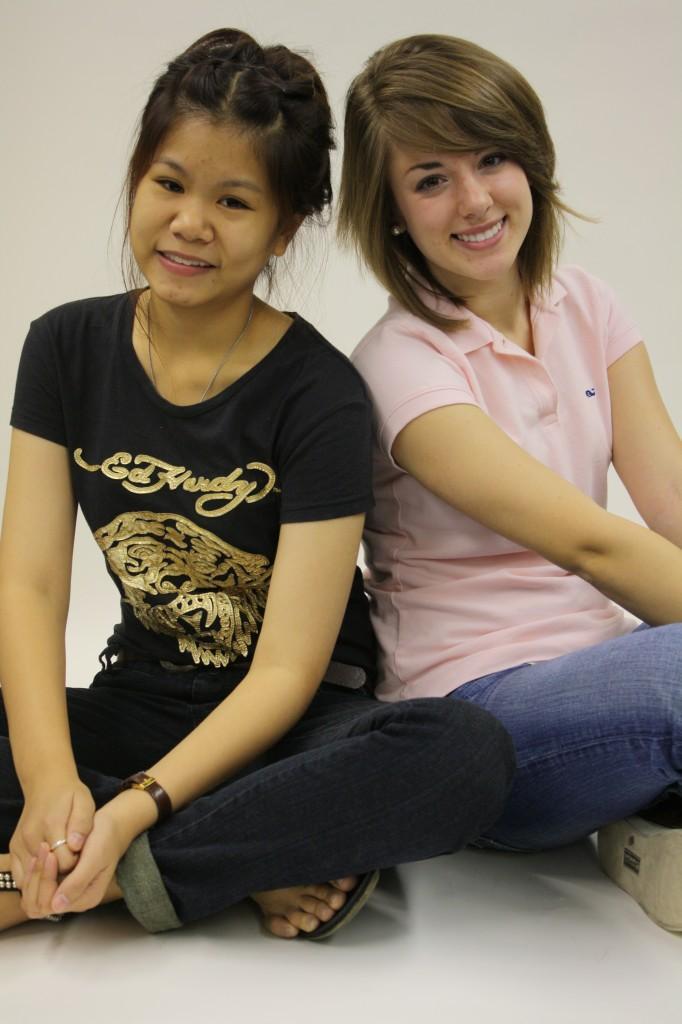 Junior hosts Thailand foreign exchange student