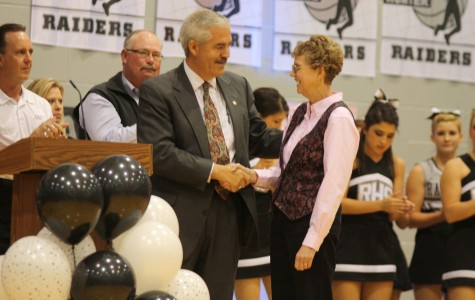 Ms. Lee Stribling joins the Raider Hall of Fame