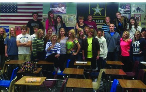 Students collect supplies for soldiers in Afghanistan