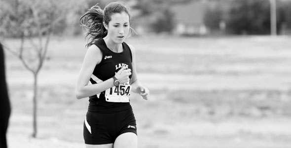 Sophomore works towards cross country state meet