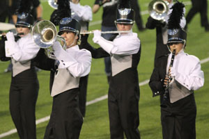 Band falls short at regional competition