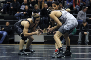 Wrestlers compete for varsity positions