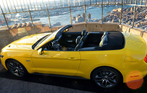 Mustang built atop Empire State Building