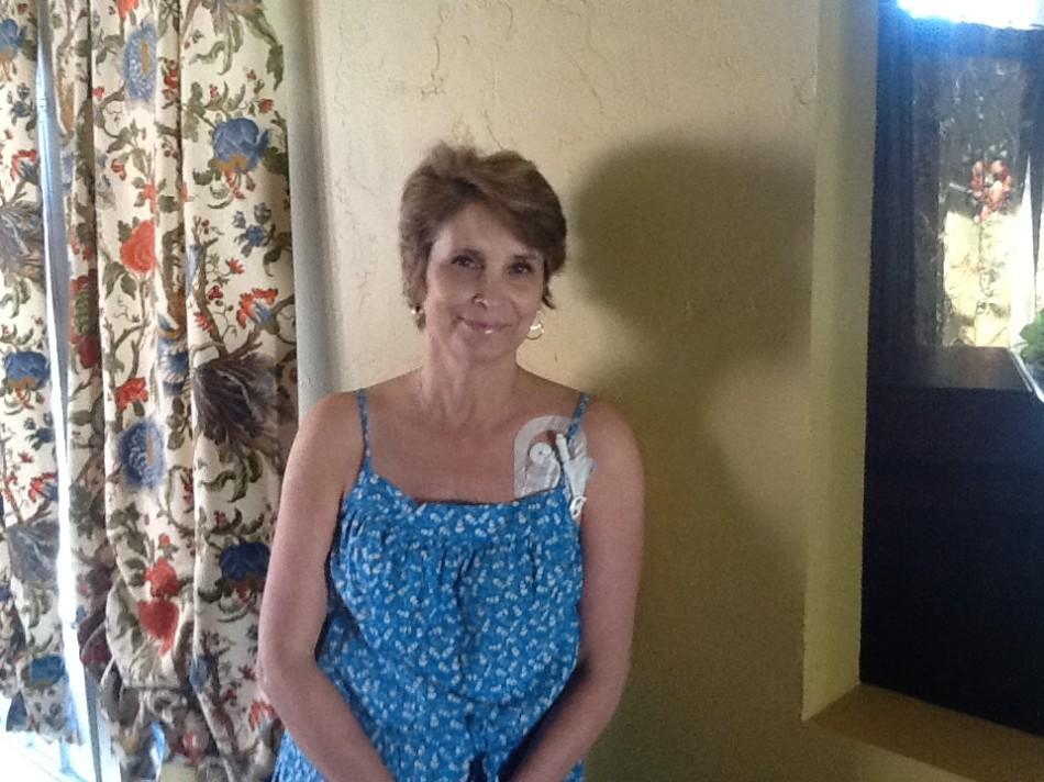 English teacher Jeannine Blankenship