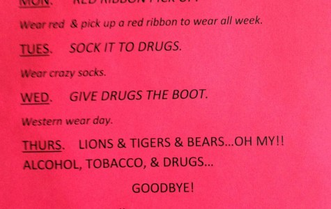 Red Ribbon week to continue spirit days