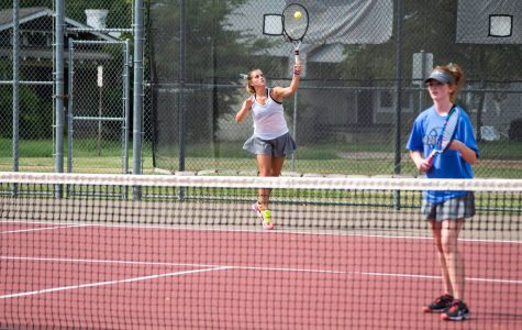 Tennis team racks up wins