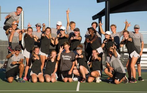 Tennis Team Secures District Title
