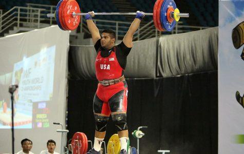 Junior sets National Record