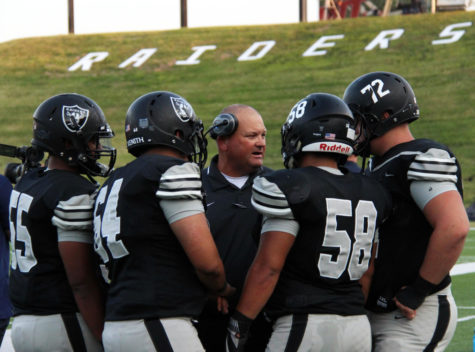 Varsity football team defeats Lubbock Cooper in first home game