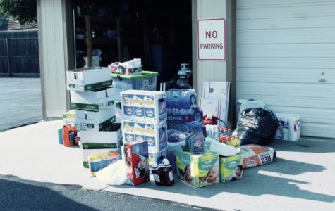 Students collect donations to help hurricane victims