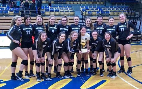 Volleyball Team To Compete For Area