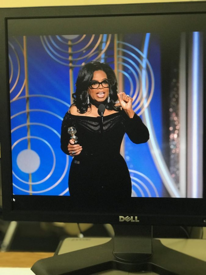 Awards and Protests: Oprahs powerful acceptance speech moves audience