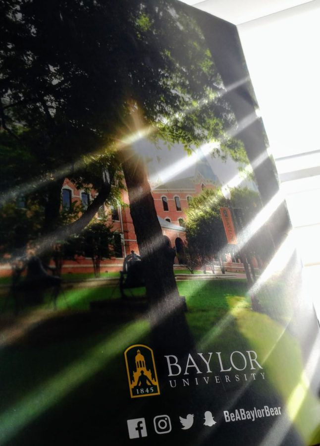 Baylor Bound Senior Reflects on Difficulties of College