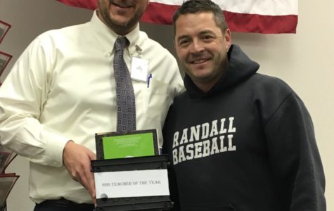 Jeff Schenck Named 'Teacher of the Year'