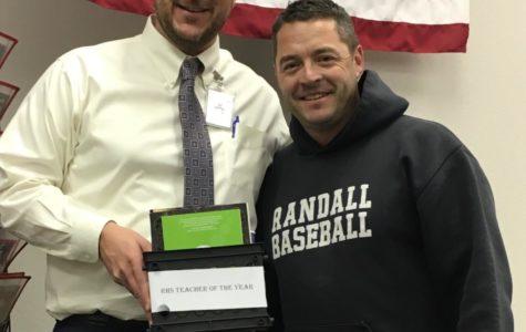 Jeff Schenck Named 'Teacher of the Year'