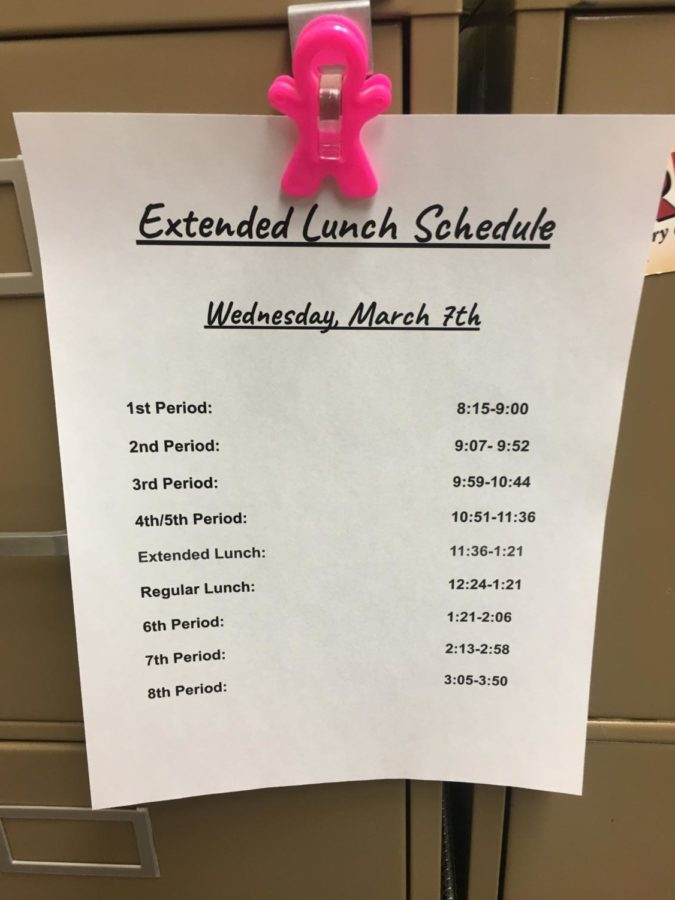 Extended Lunch Returns (One-Time Only)