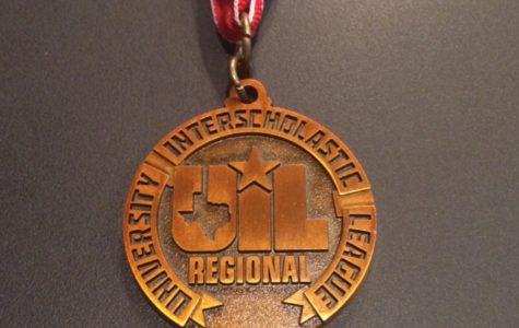 Academic Team Places Third at Region Meet