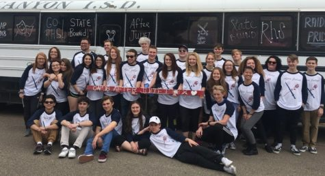 One Act play company competes at state