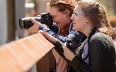 Journalism students take photography field trip