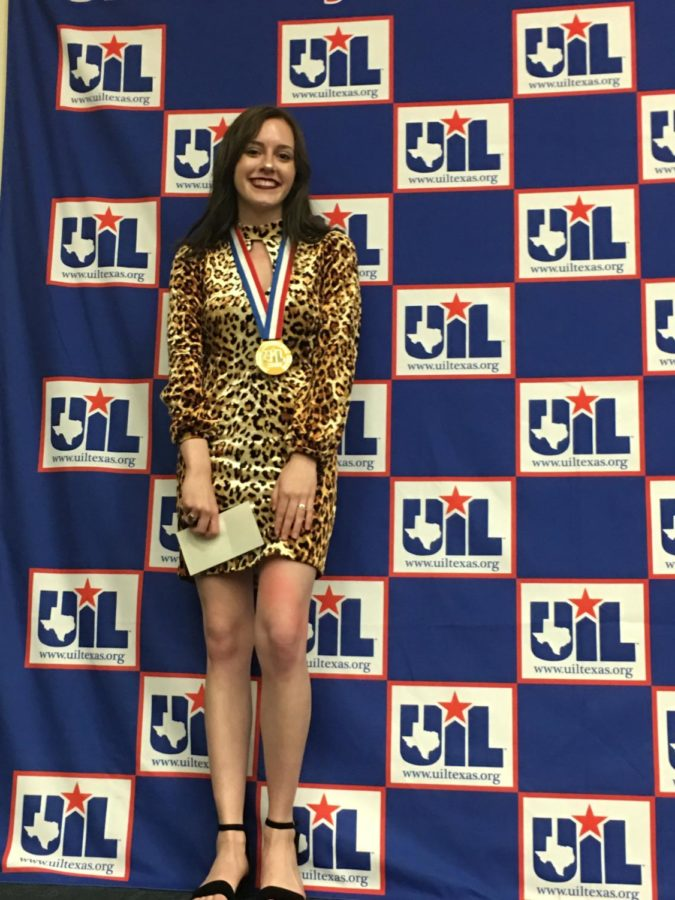 Senior Wins State In Editorial Writing