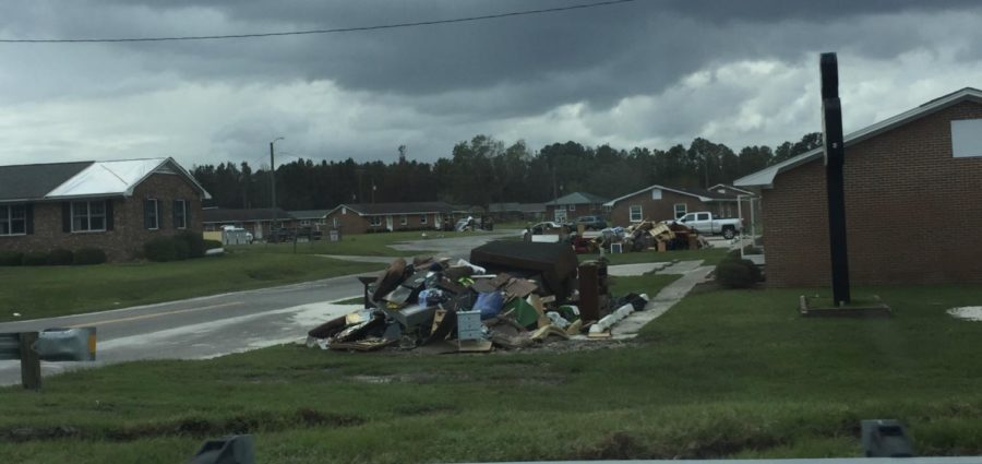 Hurricane Florence Hits, Former CISD Student is Forced to Evacuate