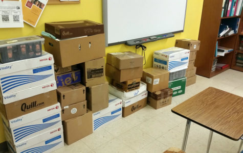 Students, Staff Donate to Resource Center