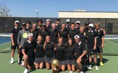 Tennis Team Wins District Title, Prepares for Playoffs