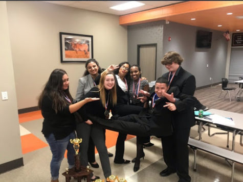 Academic Team Places Third at Region Meet