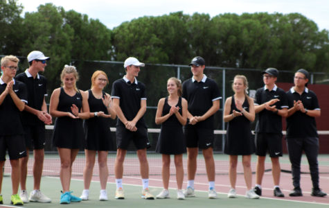 Varsity Tennis Ends Fall Season, Prepares for Spring