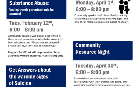 CISD Offering Parent Meetings about Vaping, Substance Abuse, Dating