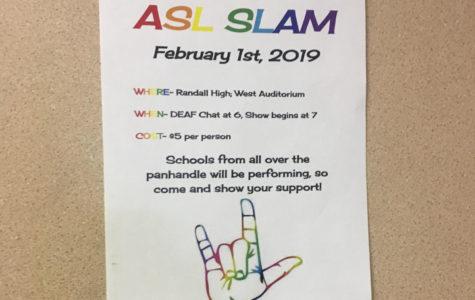 Randall Hosting Annual ASL Slam