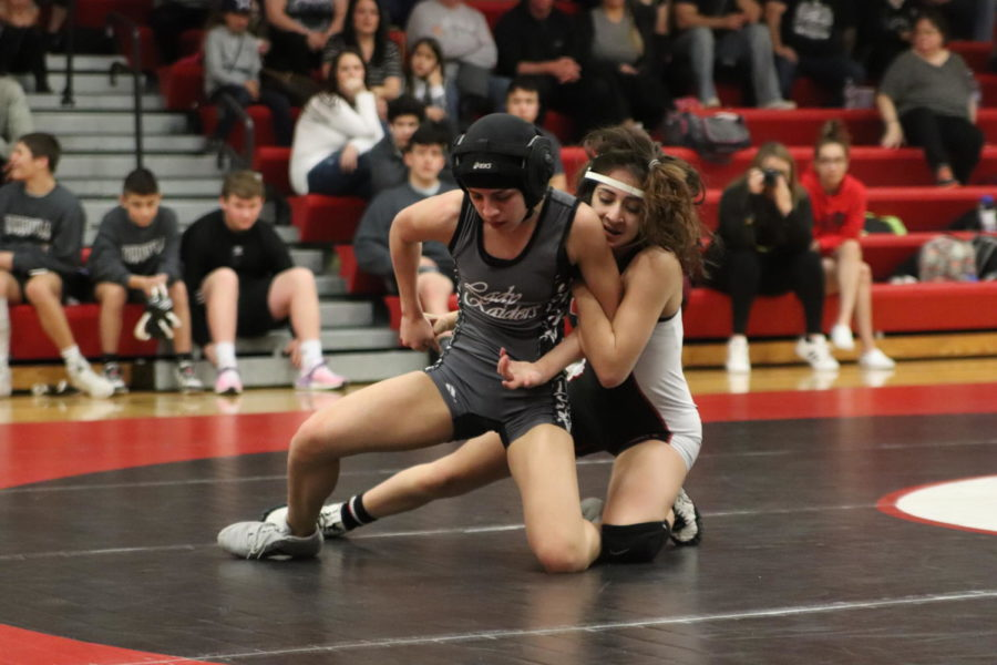 Girls Wrestling Team Claims District Championship