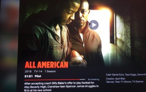 All American: New Series About A True Story of A Football Player