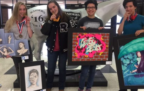 Art Students Work to be Showcased at the AMoA Art Show this Weekend