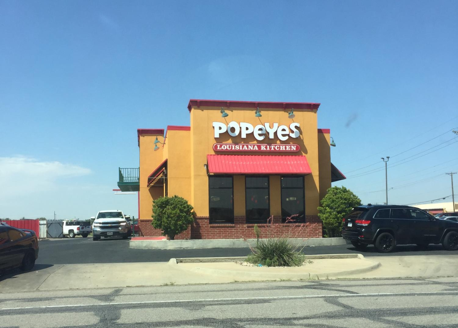 Like other Popeyes around the nation, the location on Bell sold out of chicken sandwiches.