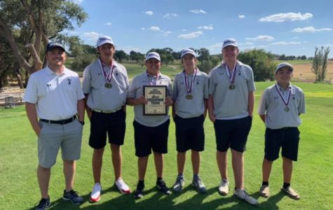 Boys' Golf Team Takes First in Hereford Tournament