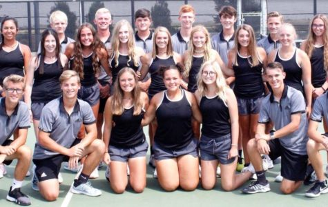 The Randall Varsity Tennis Team