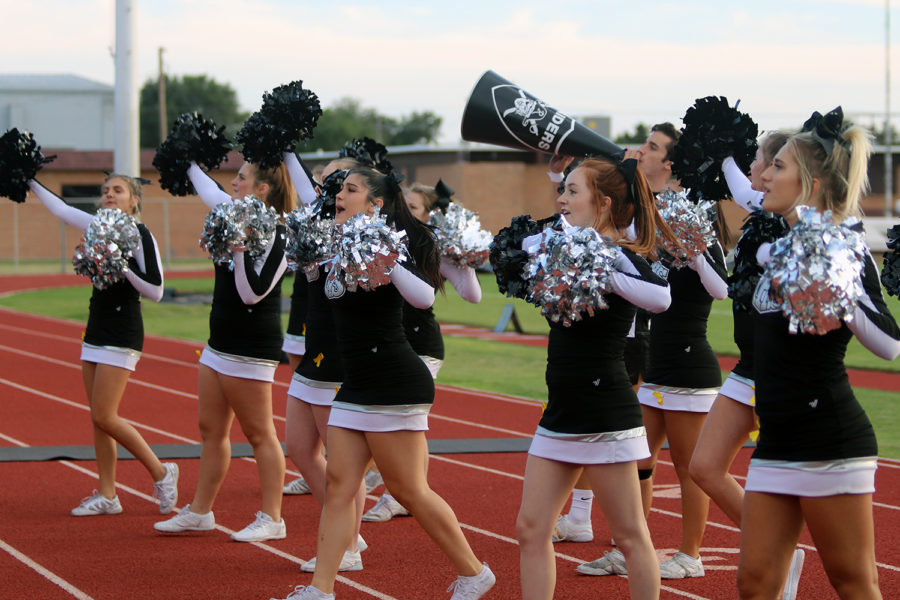 Cheerleaders to Host Youth Cheer Clinic