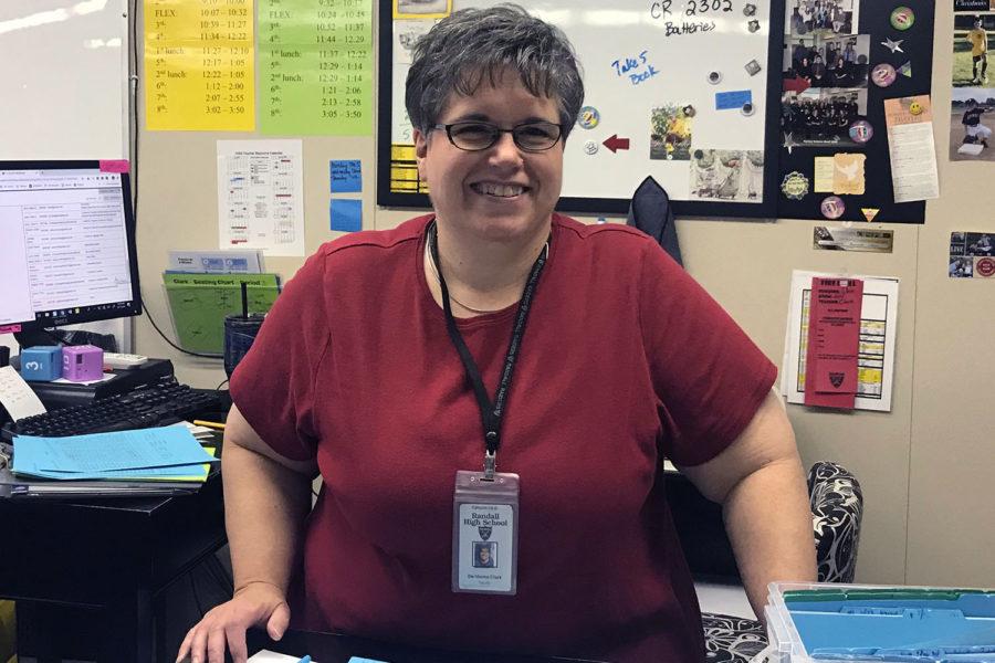 Devonna Clark, Math Teacher
