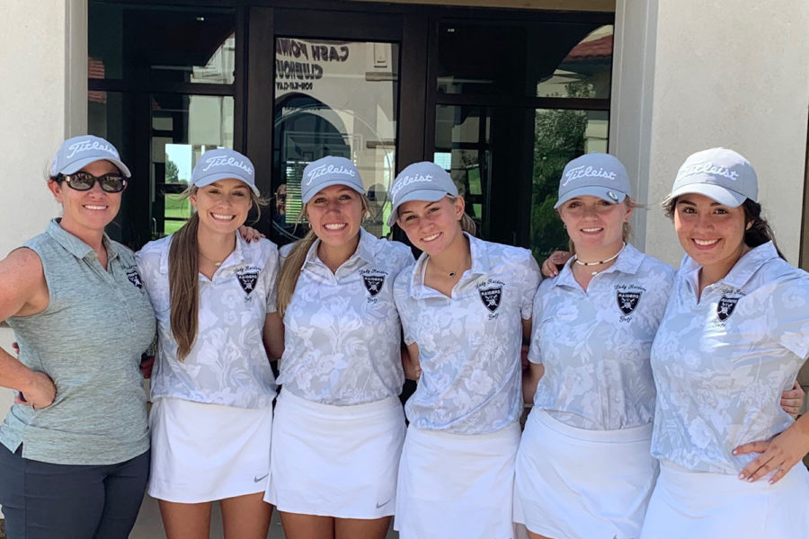 The girl's golf team placed 9th at a tournament this past weekend.