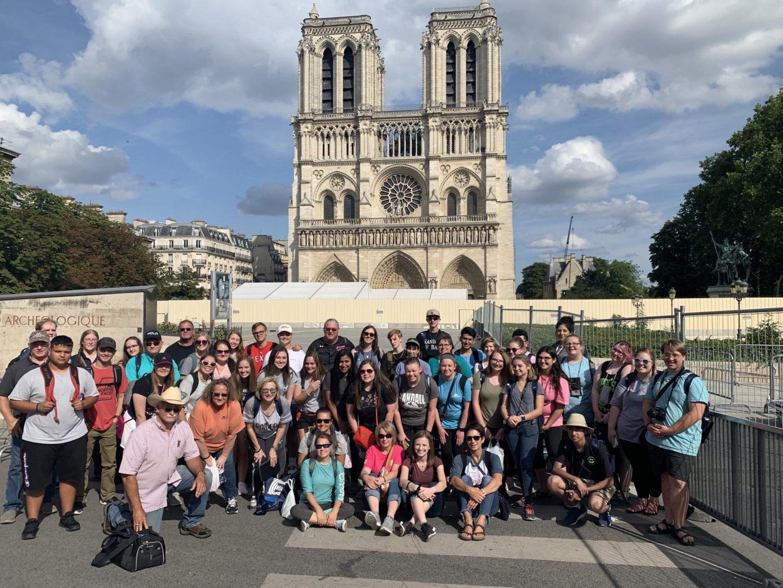 Randall Raiders visit Europe during a summer trip.