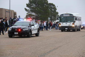 Cross Country Team Departs for State